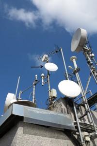 Nova antena que connecta amb Bellvitge-Ermita